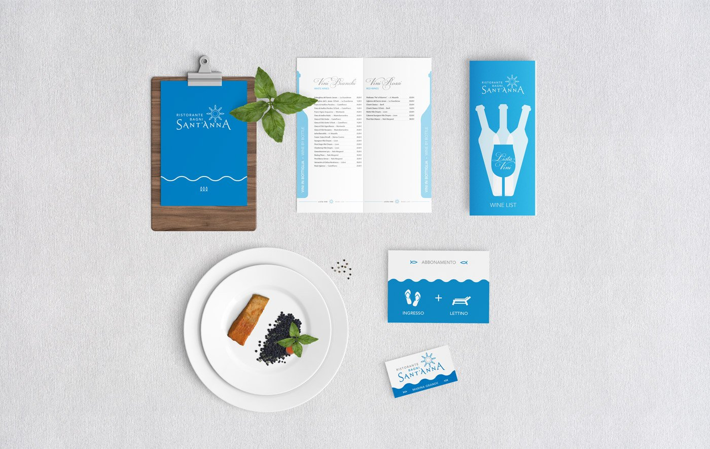 Case Study Brand Identity Design For Italian Seafood Restaurant