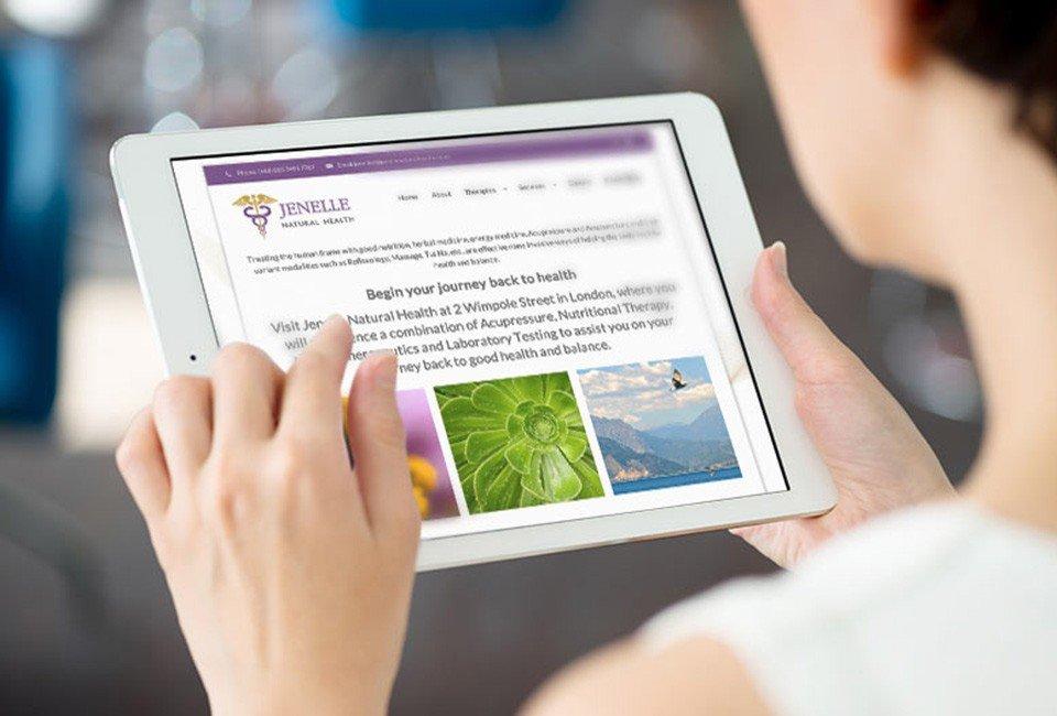 Natural Health practitioner - Website by Munch Studio